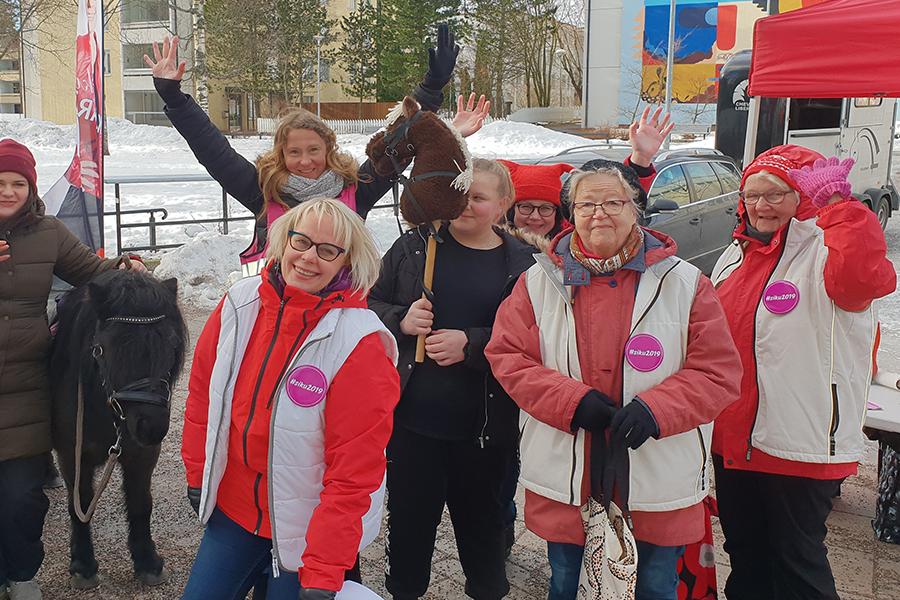 Sirkka-Liisa Kähärä Hakunilassa